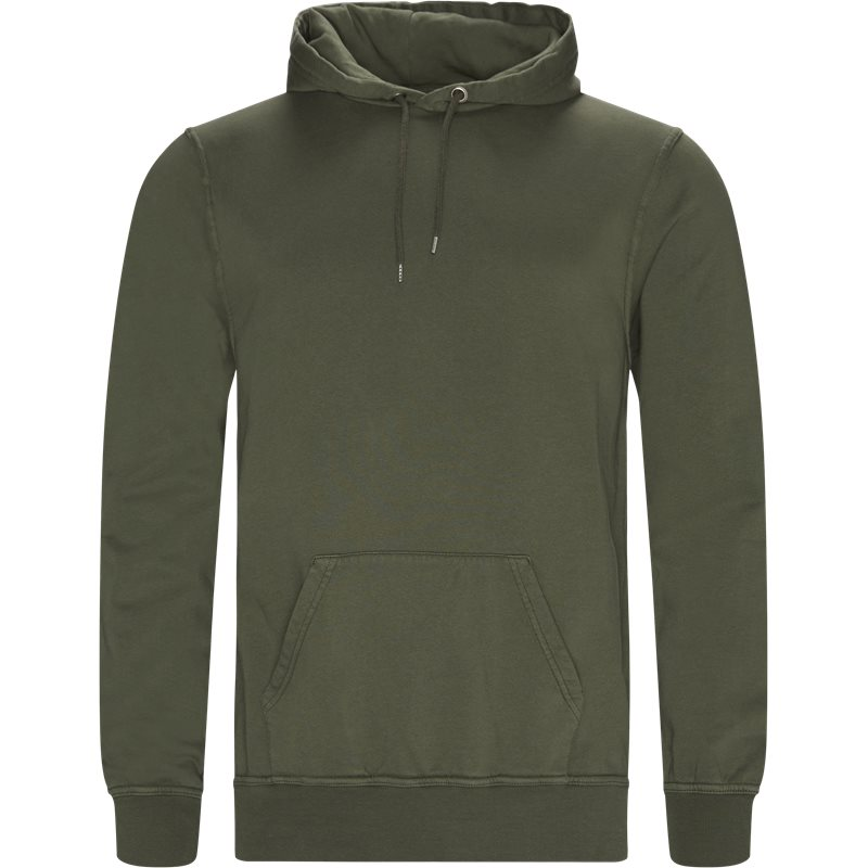 Billede af Doppia Corsia Douro Hoodie Lys Army